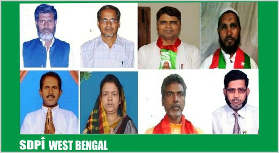 WB elections - SDPI's 8 candidates in the fray