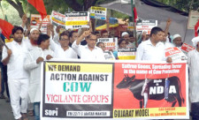 Protest demanding action against COW Vigilantes